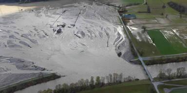 Unwetter Hochwasser Kärnten Waidegg