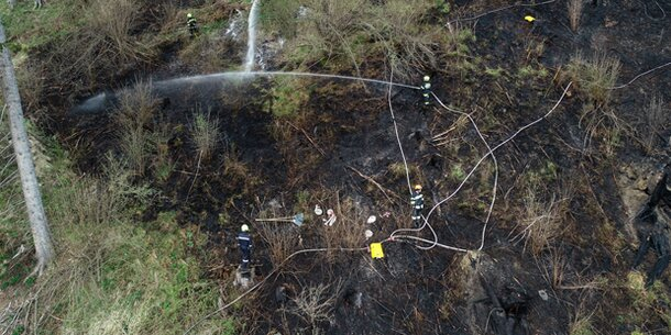 Bundesheer löst Waldbrand aus