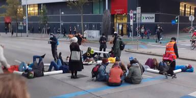 Nächster Protest der Klima-''Rebellen'' in Wien