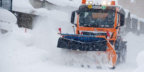 Jetzt kommt die nächste Schneewalze