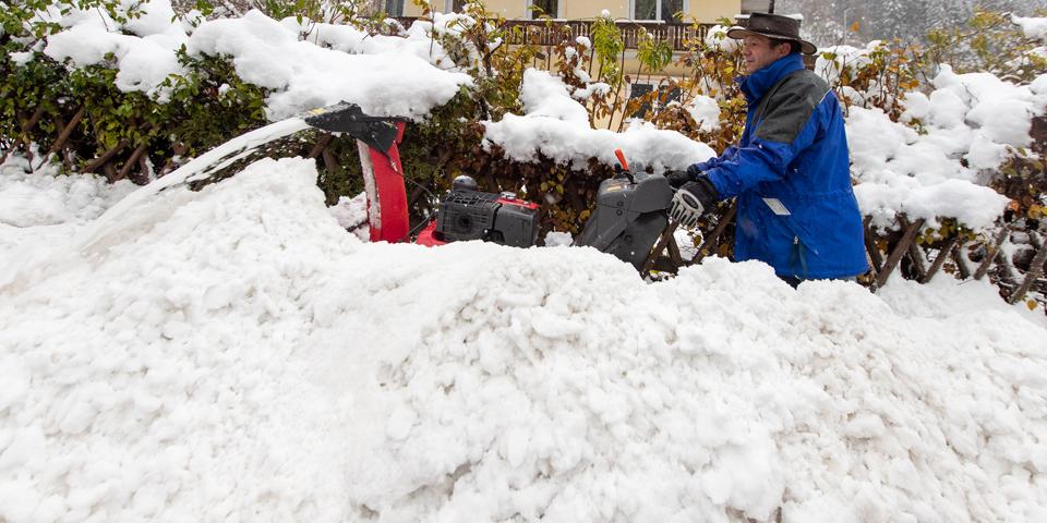 Kötschach Kärnten Schnee