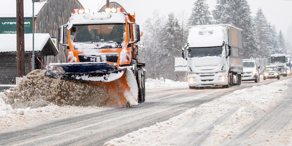 Winter Schnee in Ainet Tirol