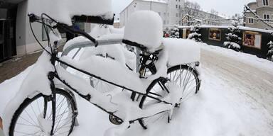 Winterwetter in Salzburg