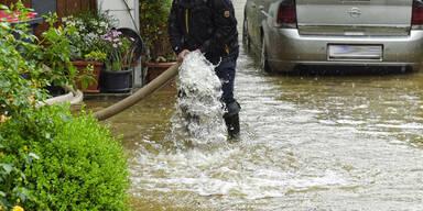 Überflutungen