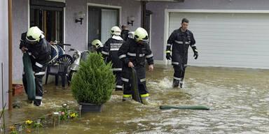 Überflutungen Braunau
