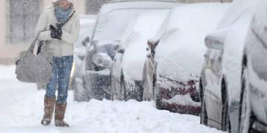 Winterwetter in Wien