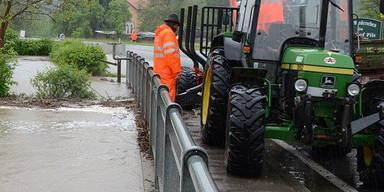 Hochwasser im Raum Lilienfeld