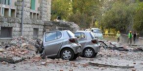 Mehrere Erdbeben erschüttern Albanien: Dutzende Verletzte