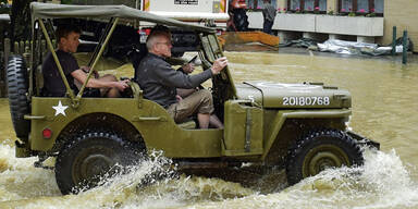 Unwetter überfluten Braunau
