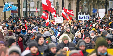 Deutsche Wut-Redner in Wien