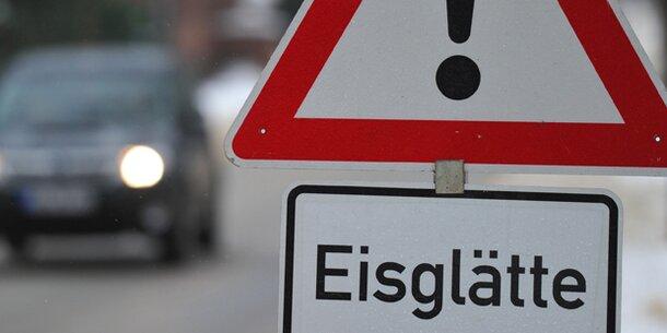 Achtung! Glatteis-Gefahr am Wochenende