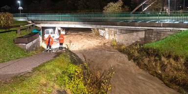 OBERDRAUBURG Hochwasser