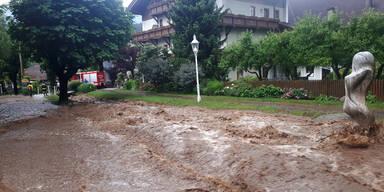 Unwetter Kärnten Seeboden am Millstätter See