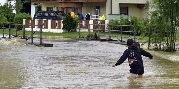 Spezielle Wetterlagen erhöhen in Österreich Hochwassergefahr