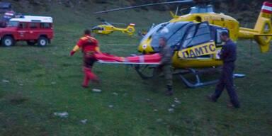 Rettungsaktion Hochschwab ÖAMTC rettungshubschrauber