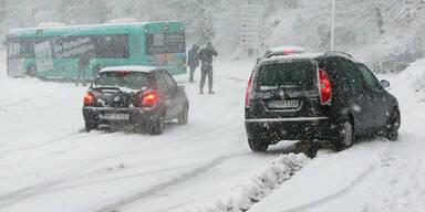 Schnee Deutschland Unfälle