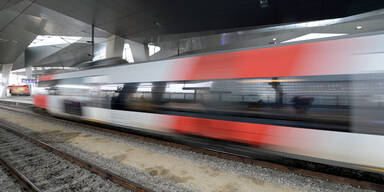 Railjet Zug ÖBB