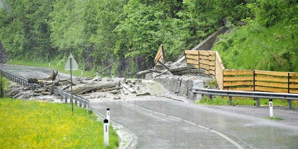Brennerbundesstraße bis Samstag gesperrt