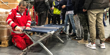 Brenner Sperre Rotes Kreuz Notquartier