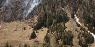 Osttirol Waldbrand