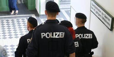 Wien Polizisten Josefstädter Straße