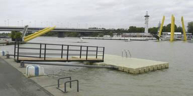 Neue Donau: Traumwetter ABER Badeverbot