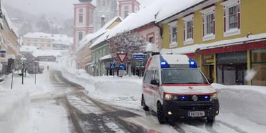 Schnee Mariazell