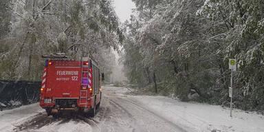 Feuerwehr Wien Schnee