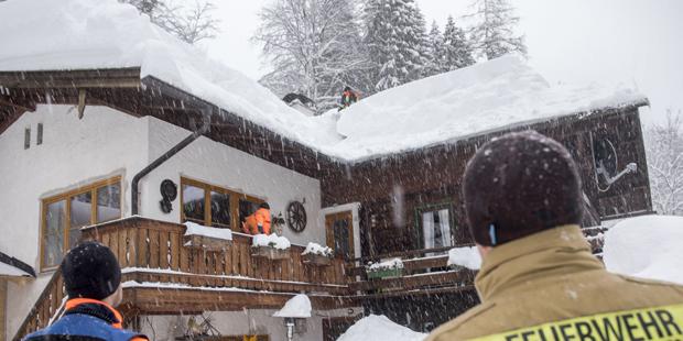 Winter in Bayern Berchtesgaden Schnee