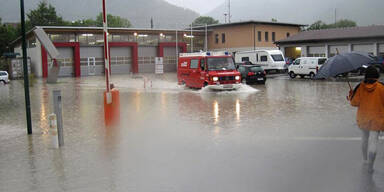 Hochwasser in Österreich