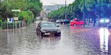 Unwetter Gmunden Überschwemmungen