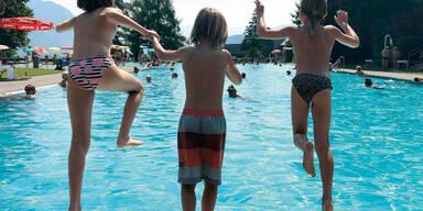 schwimmen baden sommer hitze