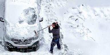 Rekord-Niederschlag | Jetzt kommen 4 Meter Schnee
