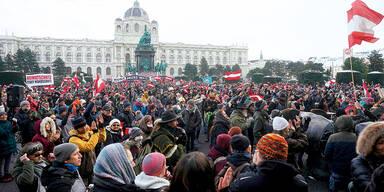 Corona-Wut-Demo: Jetzt Polizei im Visier