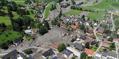 Ortskern von Muren-Katastrophe zerstört