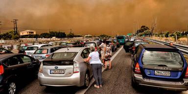 Greichenland Waldbrände