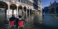 Venedig: Hochwasser-Lage immer dramatischer