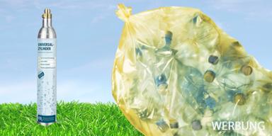 Smart: PET-Flaschen reduzieren mit Sodapop!