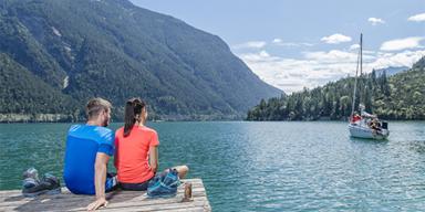 Achensee - Tirol-CH - ADV - SL - Tiroler Sommerfrische Berg See Wassersport