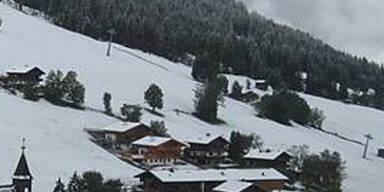 Tiefer Winter in Tirol