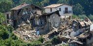 Wieder Erdbeben in Amatrice