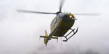 Bergrettung Helikopter Hubschrauber