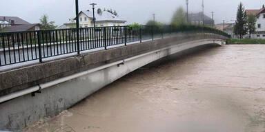 Hochwasser Ebensee