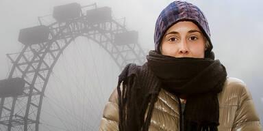 Wetter Nebel Kälte Herbst Winter Wien Riesenrad Prater