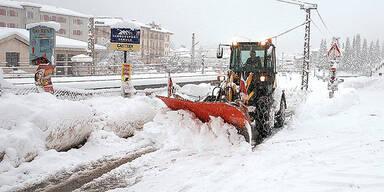 Schnee gastein
