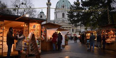 Weihnachtsmarkt Karlsplatz