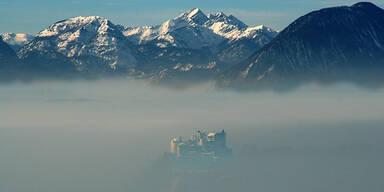 Wetter Nebel Salzburg
