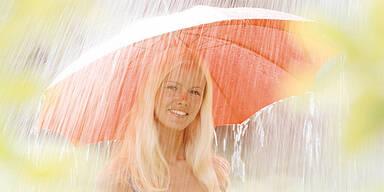 Regen Sonne Sommer Wetter