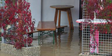 Überschwemmungen im Großraum Feldbach