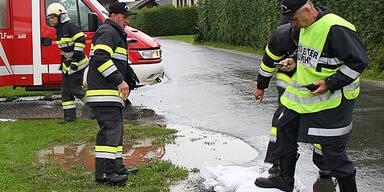Überschwemmungen in Groß Sankt Florian